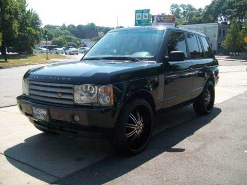 2004 Land Rover Range Rover for sale at Circle Auto Sales in Revere MA