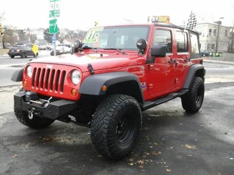 2007 Jeep Wrangler Unlimited for sale at Circle Auto Sales in Revere MA