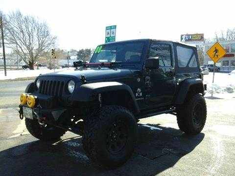 2008 Jeep Wrangler for sale at Circle Auto Sales in Revere MA