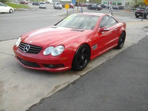 2004 Mercedes-Benz SL-Class for sale at Circle Auto Sales in Revere MA