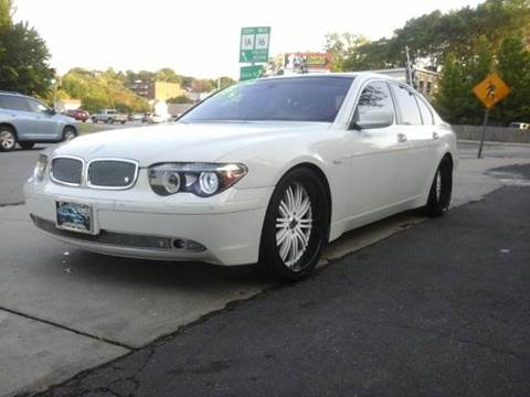 2005 BMW 7 Series for sale at Circle Auto Sales in Revere MA