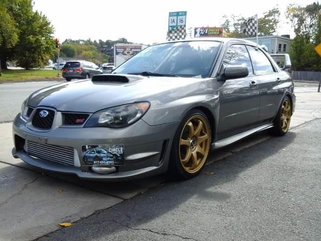 2006 Subaru Impreza Awd Wrx Sti 4dr Sedan Wgold Painted Wheels In