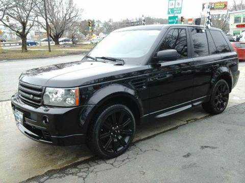 2008 Land Rover Range Rover Sport for sale at Circle Auto Sales in Revere MA