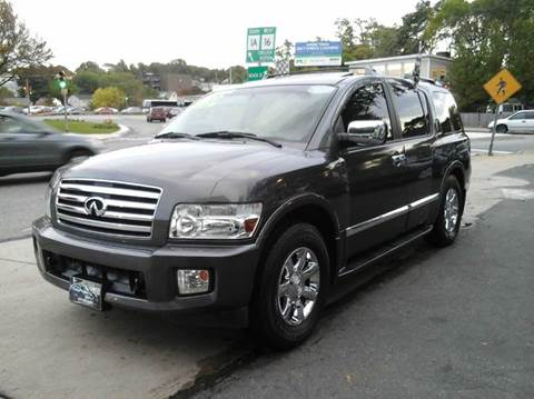 2006 Infiniti QX56 for sale at Circle Auto Sales in Revere MA