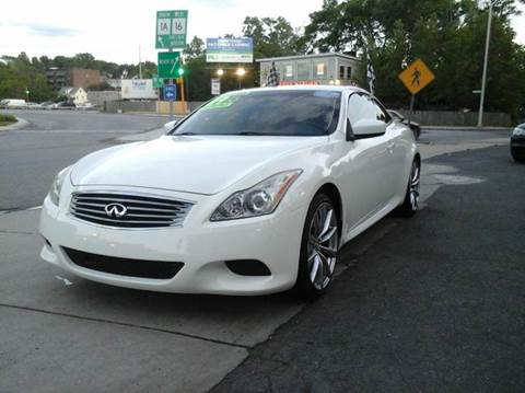 2009 Infiniti G37 Convertible for sale at Circle Auto Sales in Revere MA