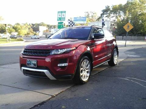 2012 Land Rover Range Rover Evoque Coupe for sale at Circle Auto Sales in Revere MA