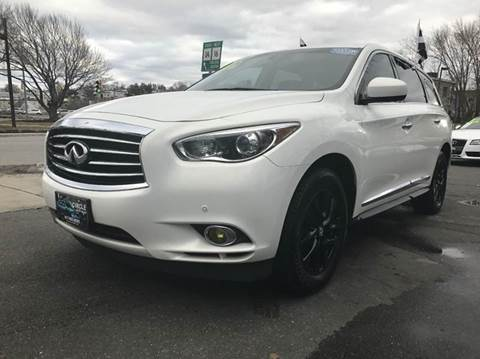 2013 Infiniti JX35 for sale at Circle Auto Sales in Revere MA