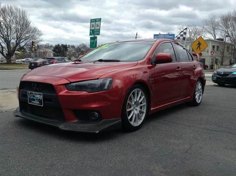 2008 Mitsubishi Lancer Evolution for sale at Circle Auto Sales in Revere MA