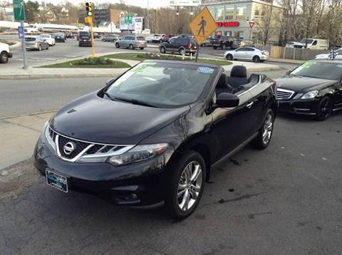2011 Nissan Murano CrossCabriolet for sale at Circle Auto Sales in Revere MA
