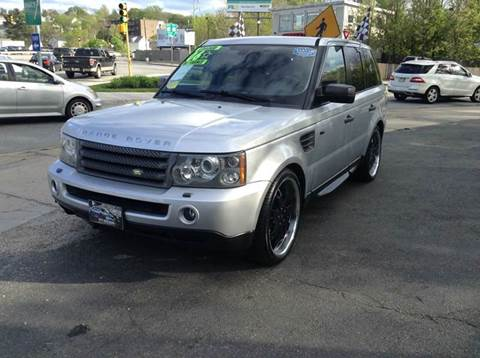 2006 Land Rover Range Rover Sport for sale at Circle Auto Sales in Revere MA
