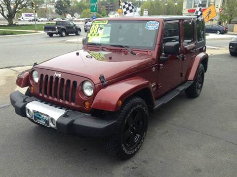 2008 Jeep Wrangler Unlimited for sale at Circle Auto Sales in Revere MA