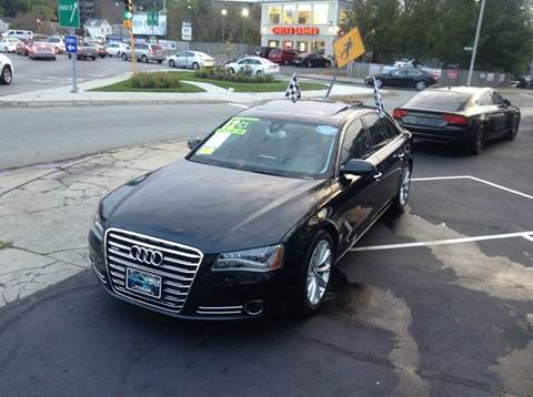 2012 Audi A8 L for sale at Circle Auto Sales in Revere MA