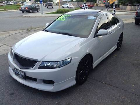 2004 Acura TSX for sale at Circle Auto Sales in Revere MA