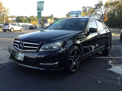 2013 Mercedes-Benz C-Class for sale at Circle Auto Sales in Revere MA