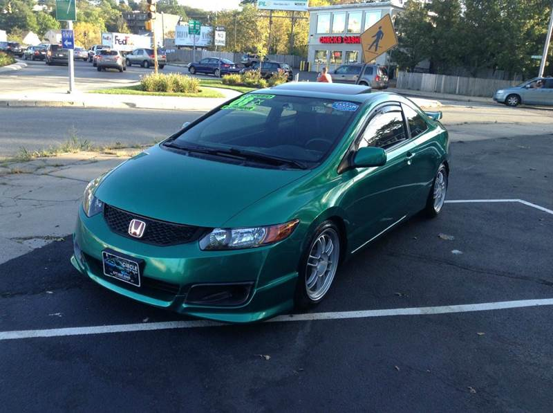 Perfect 2008 Honda Civic Si 2dr Coupe W/Navi And Summer Tires   Revere MA