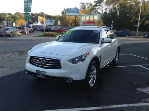 2014 Infiniti QX70 for sale at Circle Auto Sales in Revere MA