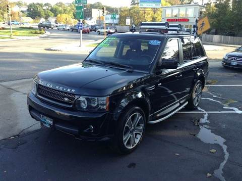 2013 Land Rover Range Rover Sport for sale at Circle Auto Sales in Revere MA