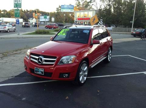 2010 Mercedes-Benz GLK for sale at Circle Auto Sales in Revere MA