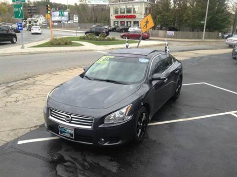 2012 Nissan Maxima for sale at Circle Auto Sales in Revere MA