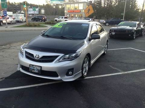 2012 Toyota Corolla for sale at Circle Auto Sales in Revere MA