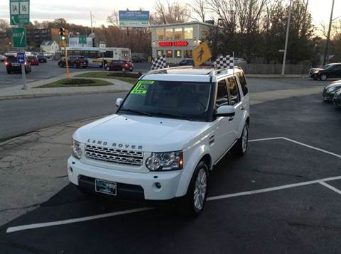 2012 Land Rover LR4 for sale at Circle Auto Sales in Revere MA
