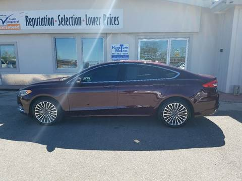 2017 Ford Fusion for sale in Gillette, WY