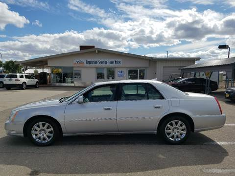 2011 Cadillac DTS for sale in Gillette, WY