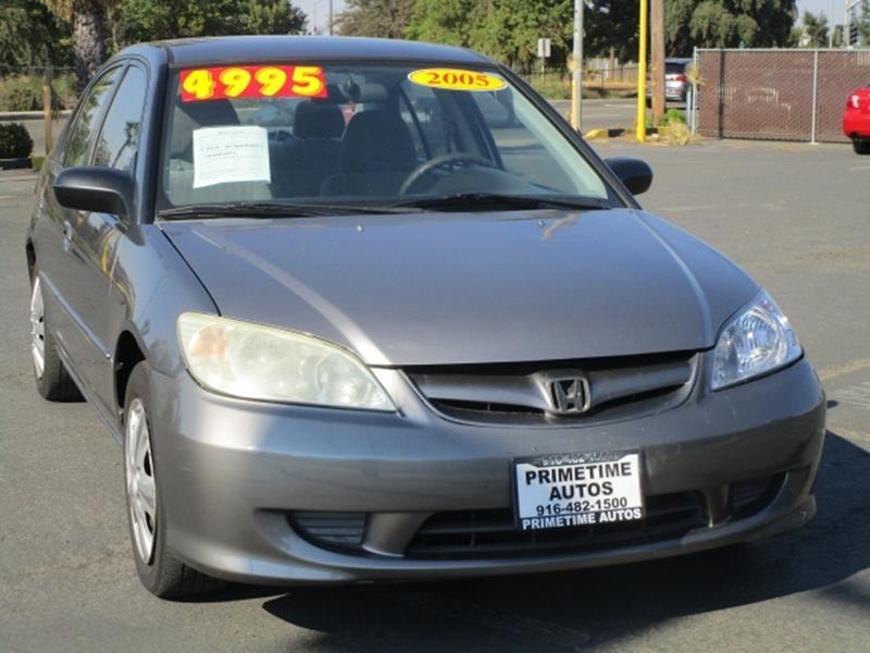 Awesome 2005 Honda Civic LX   Great MPG*Sporty Sedan*Affordable Vehicle*    Sacramento