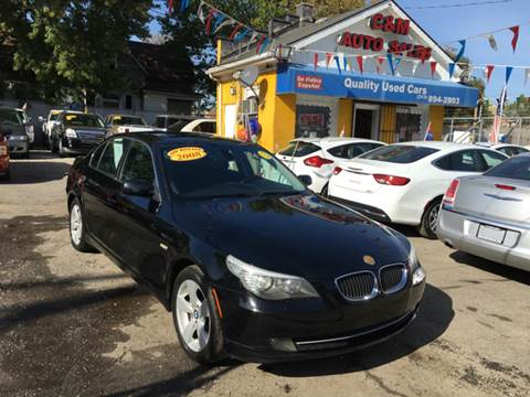 2008 BMW 5 Series for sale at C & M Auto Sales in Detroit MI