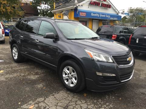2014 Chevrolet Traverse for sale at C & M Auto Sales in Detroit MI