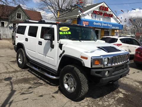 2006 HUMMER H2 for sale at C & M Auto Sales in Detroit MI