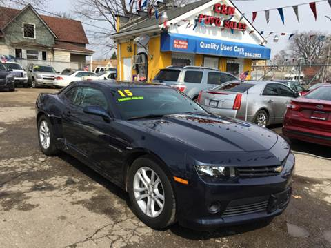 2015 Chevrolet Camaro for sale at C & M Auto Sales in Detroit MI