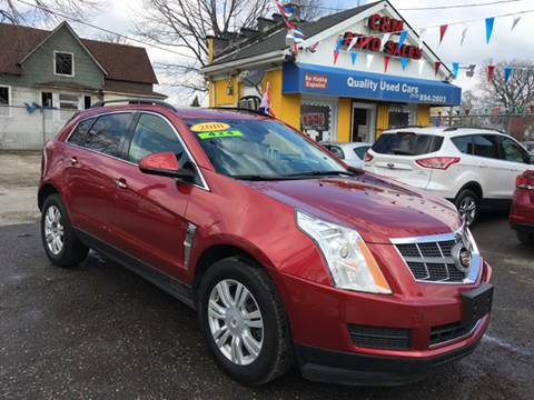 2010 Cadillac SRX for sale at C & M Auto Sales in Detroit MI