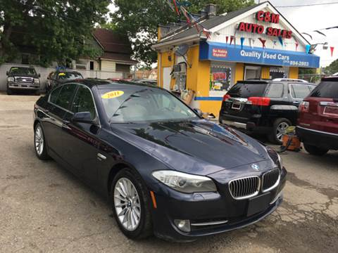 2011 BMW 5 Series for sale at C & M Auto Sales in Detroit MI