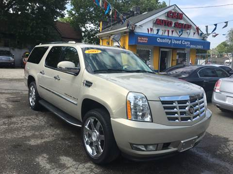 2007 Cadillac Escalade ESV for sale at C & M Auto Sales in Detroit MI
