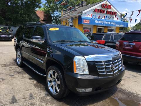 2007 Cadillac Escalade for sale at C & M Auto Sales in Detroit MI