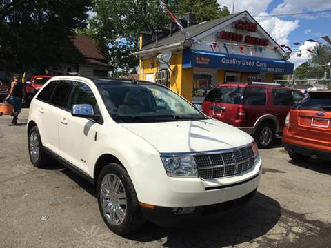 2008 Lincoln MKX for sale at C & M Auto Sales in Detroit MI
