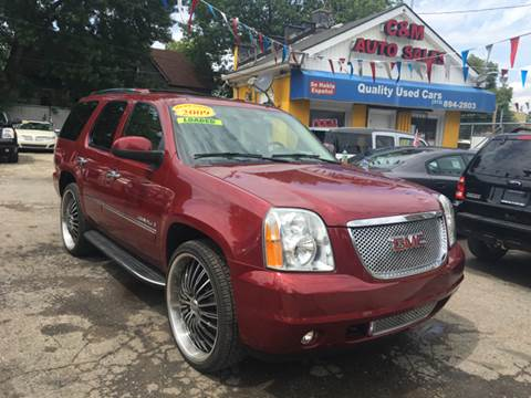 2009 GMC Yukon for sale at C & M Auto Sales in Detroit MI