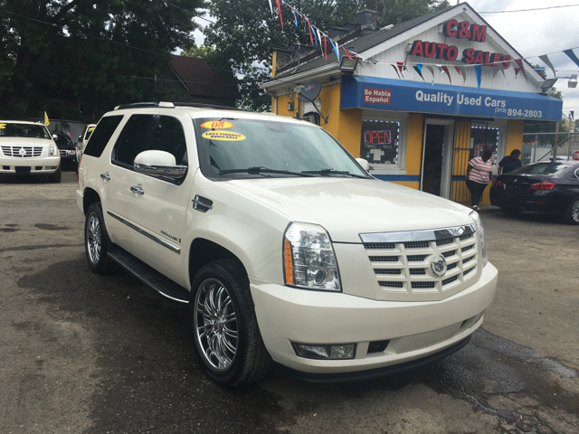 2008 Cadillac Escalade for sale at C & M Auto Sales in Detroit MI