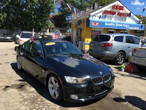 2007 BMW 3 Series for sale at C & M Auto Sales in Detroit MI
