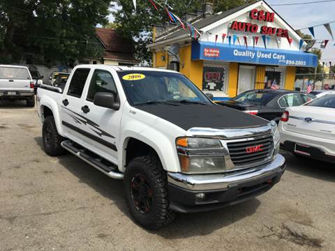 2006 GMC Canyon for sale at C & M Auto Sales in Detroit MI