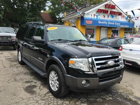 2007 Ford Expedition EL for sale at C & M Auto Sales in Detroit MI