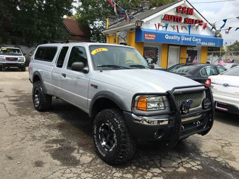 2002 Ford Ranger for sale at C & M Auto Sales in Detroit MI