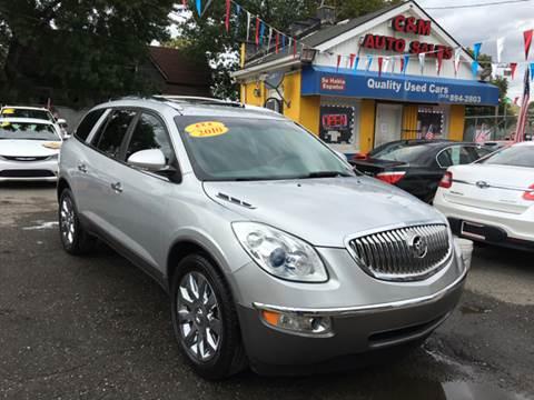 2010 Buick Enclave for sale at C & M Auto Sales in Detroit MI