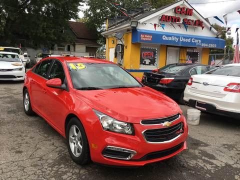 2015 Chevrolet Cruze for sale at C & M Auto Sales in Detroit MI