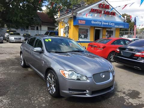 2009 Jaguar XF for sale at C & M Auto Sales in Detroit MI