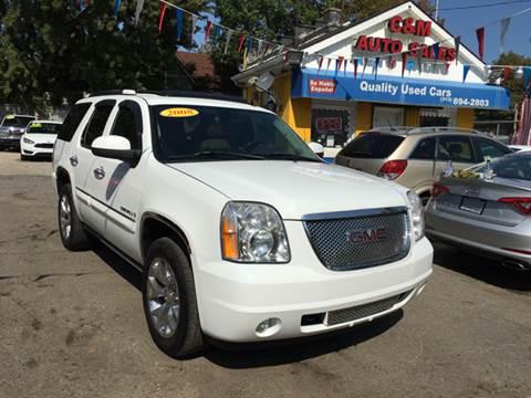 2008 GMC Yukon for sale at C & M Auto Sales in Detroit MI