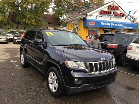 2011 Jeep Grand Cherokee for sale at C & M Auto Sales in Detroit MI