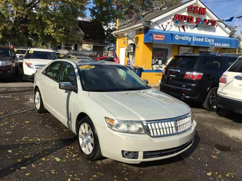 2007 Lincoln MKZ for sale at C & M Auto Sales in Detroit MI