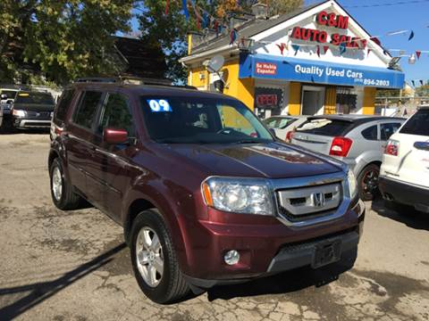 2009 Honda Pilot for sale at C & M Auto Sales in Detroit MI